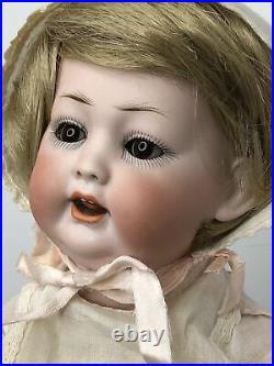 11.5 Antique Germany Bisque Doll Compo Body Kley & Hahn Baby With Cryer Head #W