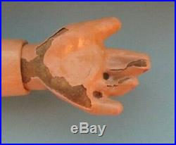 11 Antique Bisque Simon Halbig 939 with square cut teeth