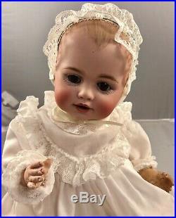 12 Antique German Bisque Head Kestner Doll! Adorable! 18057