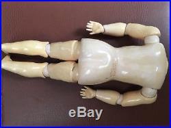12 inch / 1 Antique Kestner Doll Body- Composition, Marked VGC