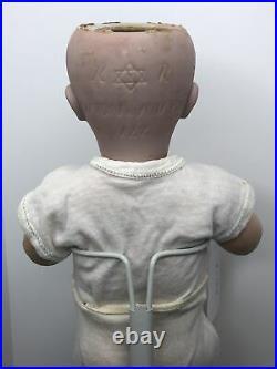 13 Antique German Simon & Halbig K Star R 122 Baby Bisque & Compo Doll #W