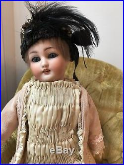 13 Rare Simon Halbig Lady Doll W Flapper Body Mold 1159 Exquisitely Dressed