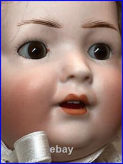 15.5 Antique BP Bahr & Proschild Bisque Cute Baby Doll #585 Open Mouth #SC5