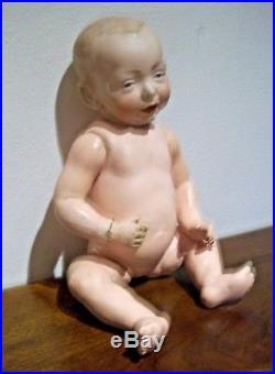 15 Antique German Bisque Closed Mouth Kammer Reinhardt Kaiser Baby 100 Doll