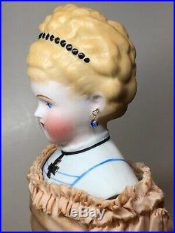 16 Antique Bisque German Alt Beck Gottschaulck China Head Empress Augusta #A