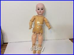 17Antique Kammer & Reinhardt 191 Bisque Head German Doll From 1900