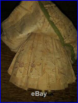 1800's Antique Porcelain Doll (Original box) My Great Grandmothers 1st Doll