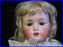 18 Original #249 RARE J. D. KESTNER Character German Bisque Doll Perfect