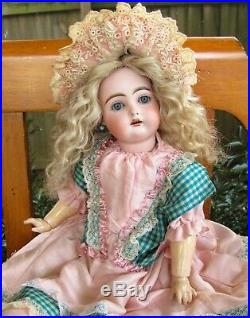 19 Antique German Doll Rare INCISED C Resemble Kestner 192 Kammer & Reinhardt