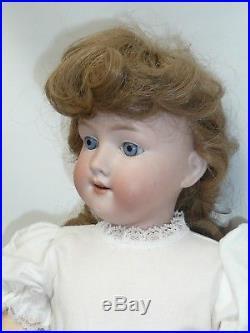 20 Antique German Armand Marseille Floradora on BJ Body, Perfect Head, as found