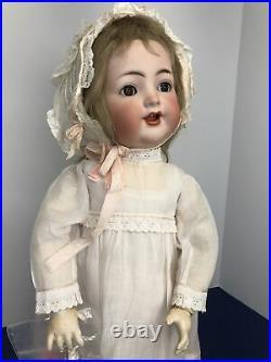 20 Antique German Simon & Halbig K Star R 126 Toddler Bisque & Compo Doll #Sc5