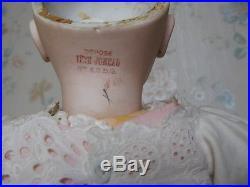 21 Antique French Bisque Head Tete Jumeau Circa 1890