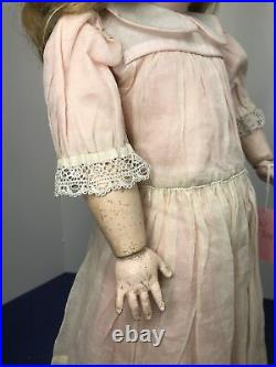 21 Antique German Kestner #171 Bisque Doll Original Compo Ball Jointed Body #L
