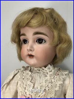 21 Antique Kestner Bisque Doll Germany 167 10 1/2 Compo BJ Body All Original #L