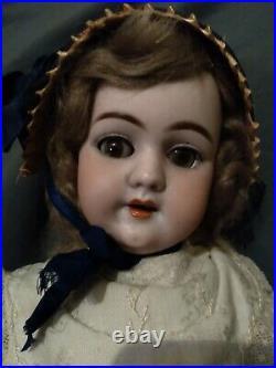 22 1890's German bisque 109 Handwerck doll