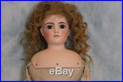 22 Antique Doll Kling Fashion Lady 162 German Bisque Circa 1890 Very Pretty