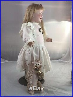 22 Antique German Bisque Head Doll Schoenau & Hoffmeister Princess Elizabeth