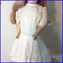 22 Antique Schopenau & Hoffmeister German Child Doll #1909, Bisque Head