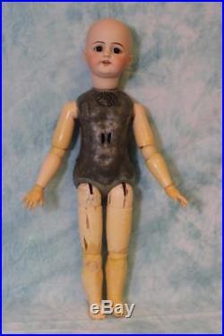 22 Inch Edison Talking Phonograph Doll Simon Halbig 719 Original jointed body