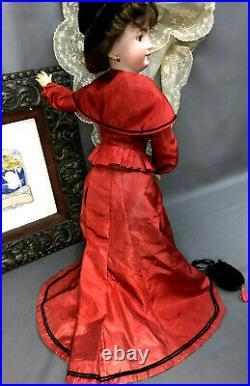 22 Simon & Halbig 1159 LADY on JUMEAU Lady Body Antique Bisque-Head German Doll