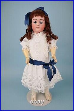 23 Inch Antique Handwerck Doll Marked 109 German Doll Sweet Dress Named Gretl