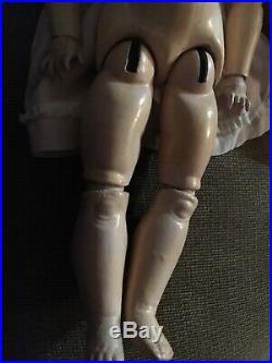 24 QUEEN LOUISE Armand Marseille EXCEPTIONAL Antique German Bisque Head Doll