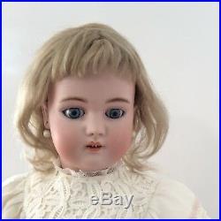 24 Simon Halbig 1079 Antique German Bisque Head Doll