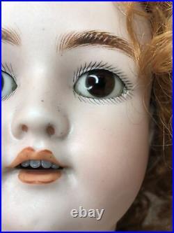 26 Antique German Simon & Halbig Heinrich Handwerck 109-12N DEP Bisque Doll #L
