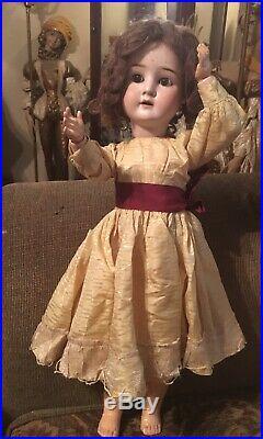 26 EXCEPTIONAL Antique German Bisque Head Doll