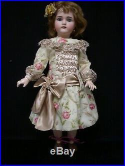 27 Antique German Bisque Head Doll KR Simon & Halbig Excellent Condition