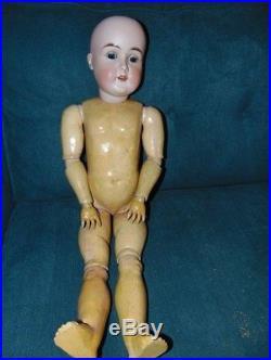 29 Antique Bisque Head Karl Hartmann Doll
