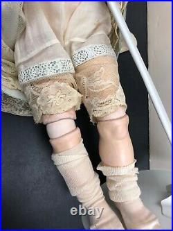 29 Antique German Kammer & Reinhart Bisque Doll 192 Adorable Blonde Curls #SC1