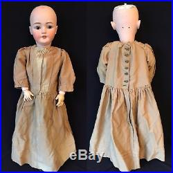 30 ANTIQUE BISQUE HEAD SIMON & HALBIG 1079 WithBALL JOINTED CHILD BODY, AS IS