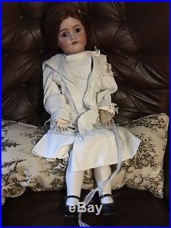 30 Antique Heinrich Handwerck Simon & Halbig German Doll Bisquel