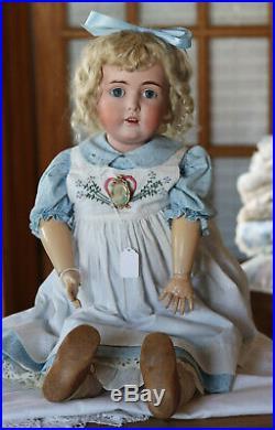 German Bisque Antique Bisque Dolls Bright Luster
