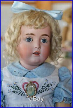 31 Beautiful Antique Kestner Doll #171 Germany, Orig. Luster wood &compo body