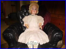 42 Antique Great Simon & Halbig/Handwerck Doll, Super Clothes, Mkd Head & Body