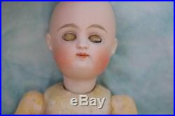 7 Too Cute Kestner #3 Antique Bisque Doll Sleep Eyes Adorable Outfit