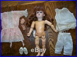 9 3/4 Gebruder Heubach Character Antique Doll Mold 8192