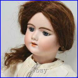 ANTIQUE GERMAN DEP HANDWERCK 109/12N DOLL, 24, WithCLOTHES & JEWELRY, WOW