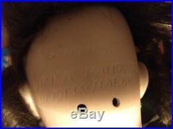 ANTIQUE HEINRICH HANDWERCK SIMON HALBIG BISQUE DOLL Circa 1905 Orig Hair & Eyes