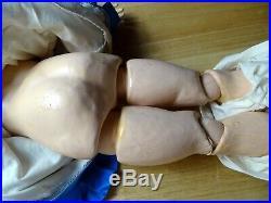 ANTIQUE SIMON HALBIG DOLL K star R 24 Blonde Open mouth 62 mark