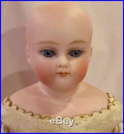 Antique 11.5 C1890 German Bisque ABG Closed Mouth Fashion Doll