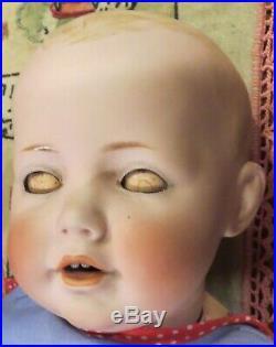 Antique 15 German Bisque Kestner Hilda Doll on Original Body