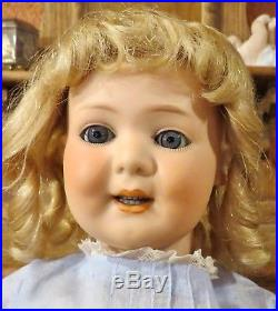 Antique 18 Rare German bisque character 225 with Retractable Teeth by Marseille