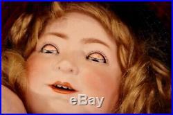 Antique 19 German Princess Elizabeth Doll by Schoenau Hoffmeister, Perfect