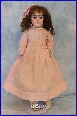 Antique 22 German Bisque Doll Shoulder-head Kestner Marked 8 Made in Germany