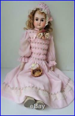 Antique 24 Alt Beck Gottschalck #1123 1/2 Turned Head German Doll No. 10 ABG