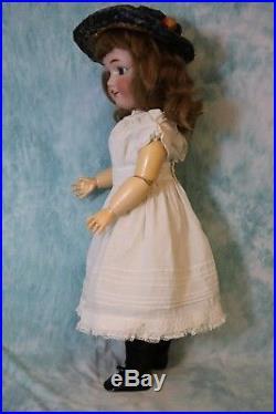 Antique 24 Simon and Halbig Jutta 1348 German Bisque Doll Boo Boo Bargain