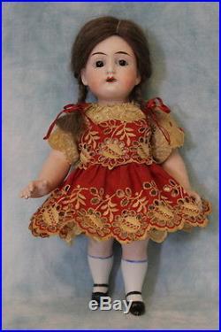 Antique 8.5 Large All Bisque 5934 German Bisque Doll Bargain Price